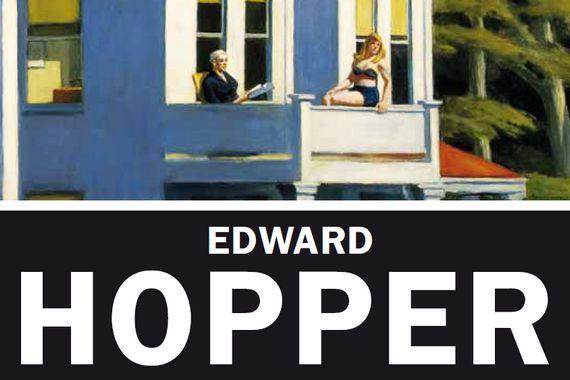 Particolare della locandina della mostra di Hopper a Milano