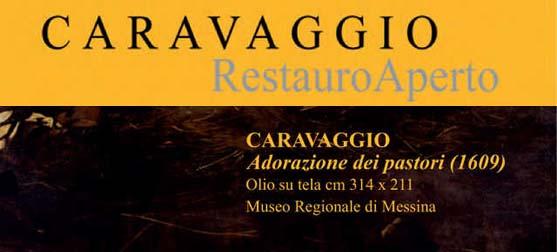 CARAVAGGIO-Restauro-Aperto