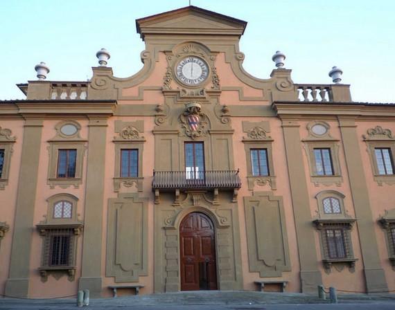 Facciata Villa Corsini a Firenze (dal sito MiBAC)