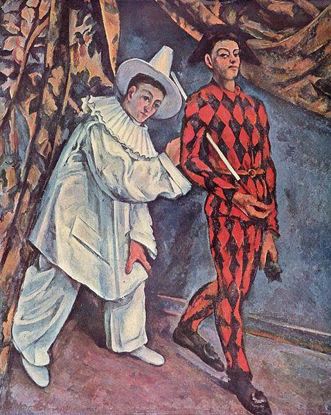 Martedi Grasso, dipinto Paul Cezanne