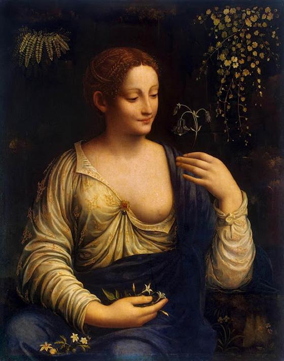 Francesco Melzi, Flora